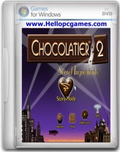 Chocolatier 2 Secret Ingredients Game