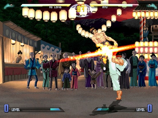 Dragon Ball vs Street Fighter 3 MUGEN Game picture