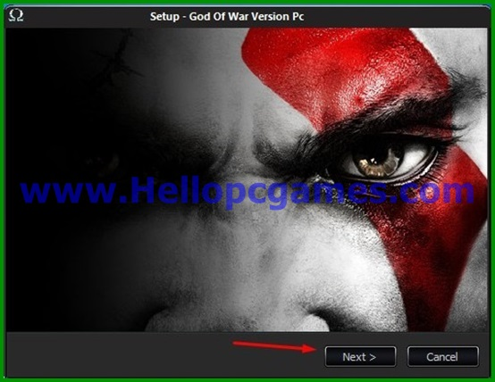 God of war 1 Game Installation steps 3