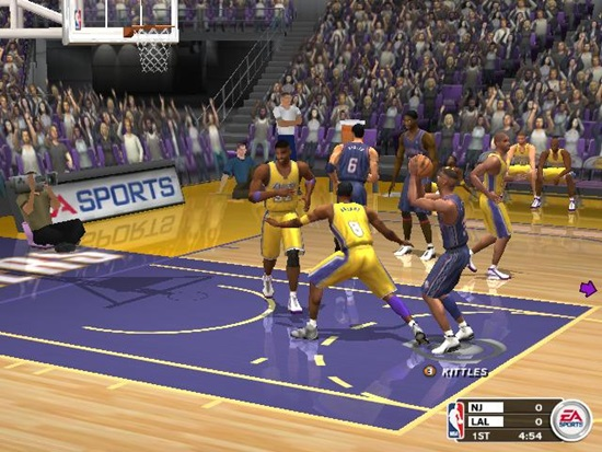 NBA Live 2003 Game Picture