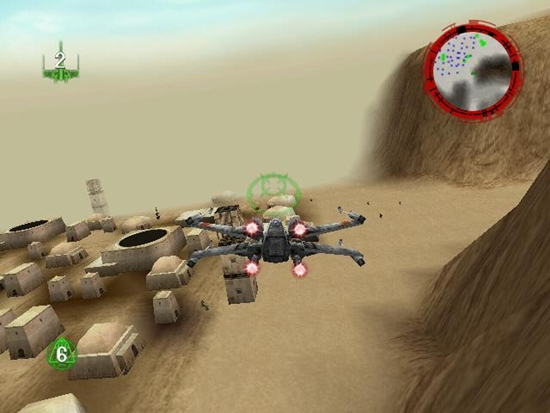 Star Wars Rogue Squadron Game  Picture 2