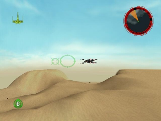 Star Wars Rogue Squadron Game  Picture