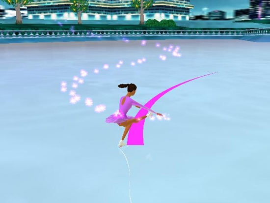 Barbie Sparkling Ice Show Game Picture 2
