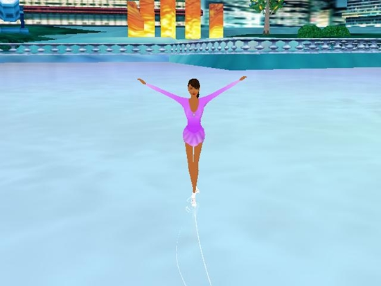Barbie Sparkling Ice Show Game Picture 3