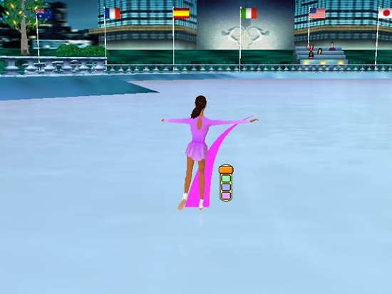 Barbie Sparkling Ice Show Game Picture