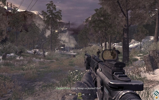 Call Of Duty 4 Modern Warfare Game Picture