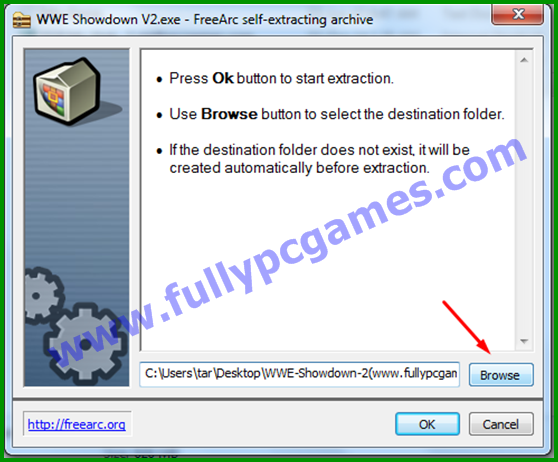 How to Install WWE Showdown 2 PC Game step 2