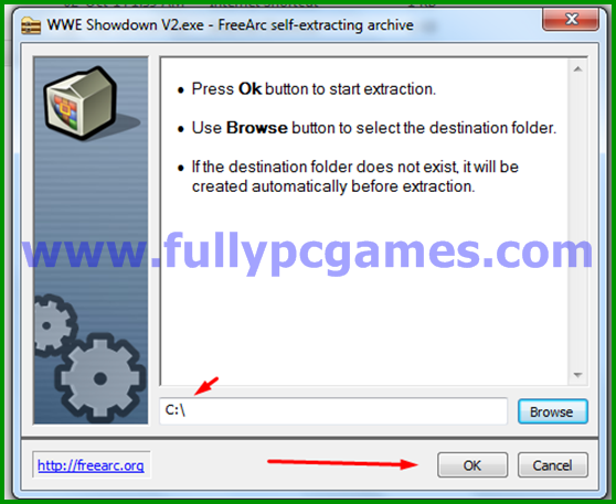 How to Install WWE Showdown 2 PC Game step 4