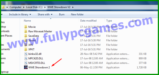 How to Install WWE Showdown 2 PC Game step 7