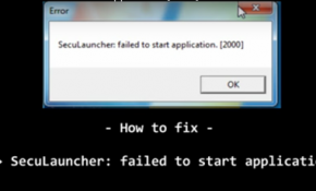 How to fix GTA 4 SecuLauncher - failed to start application 2000