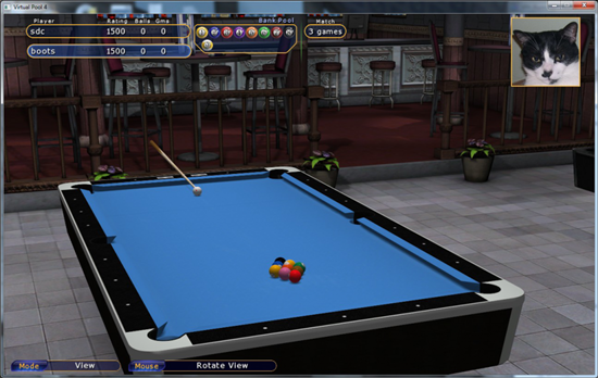 Virtual Pool 4 Game Picture