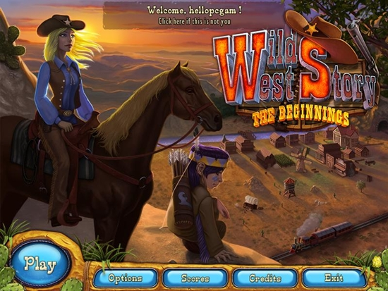 Wild West Story Game Picture