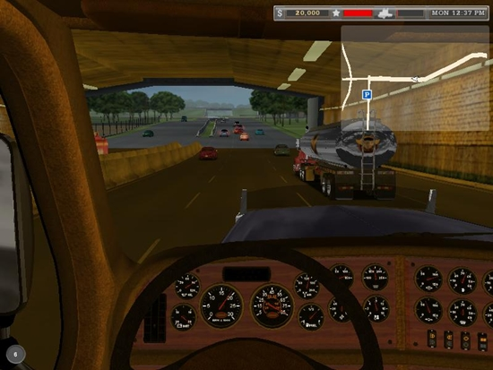 18 Wheels Of Steel Haulin Game Picture 3