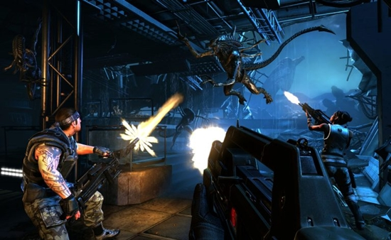 Aliens Colonial Marines Game Picture