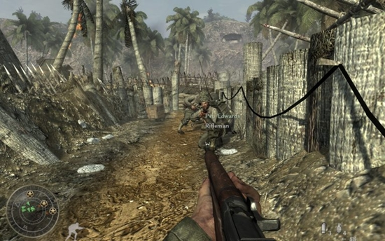 Call Of Duty World At War Game Picture