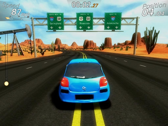 Crazy Cars Hit The Road Game Picture 2