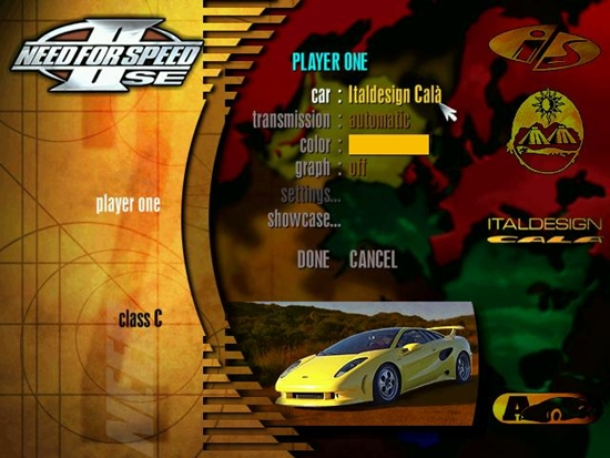 Need For Speed II SE Game Picture 3