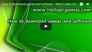 How to download games and software – Watch video tutorials