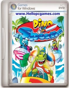 Dino Speedboat Game