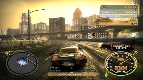 Need For Speed Most Wanted Black Edition Game - Free Download Full Version For PC