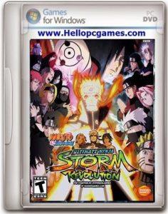 Naruto Shippuden Ultimate Ninja Storm Revolution Game