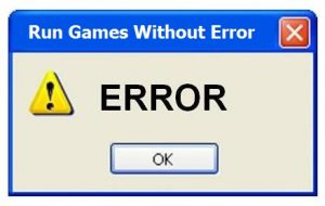Required Software To Run Games Without Error