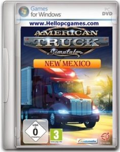 American Truck Simulator New Mexico Game