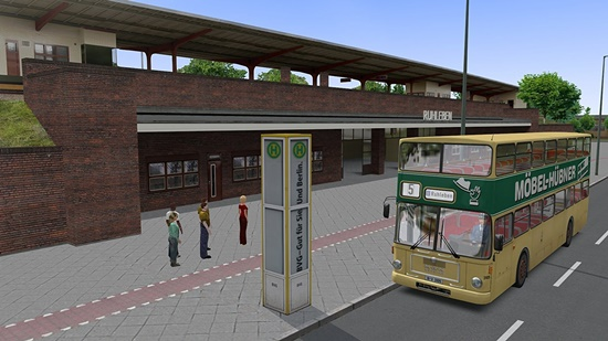 OMSI: The Bus Simulator Game - Free Download Full Version For PC