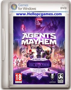 Agents of Mayhem Game