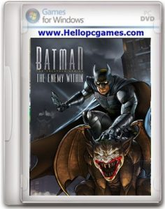 Batman: The Enemy Within Game – Complete Season